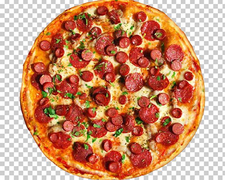 3. Salami Pizza