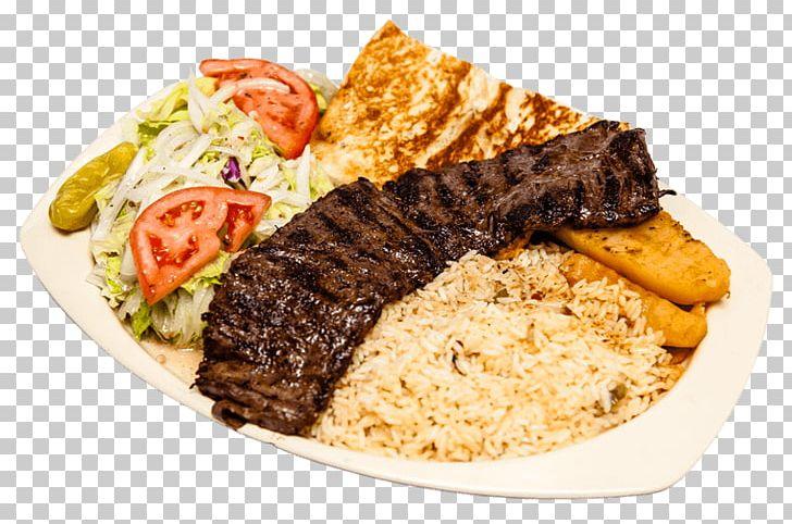 47. Kebab Riisillä ja Lohkoperunoilla